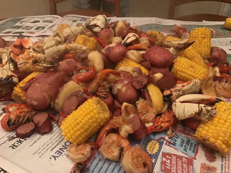 Lofty labs crab boil
